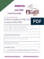 Butlletí nº 1 FSCat