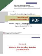 EE354 - Clase 4T1 - Control en Sistemas de Potencia 2020-I