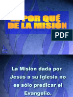 El Por qué de la Misión