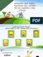PPT UTILIDAD DE LAS EMOCIONES 3° Y 4° BÁSICO