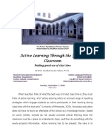 Active Learning Through the Flipped Classroom