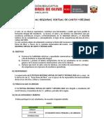 BASES VI FESTIVAL REGIONAL VIRTUAL DE CANTO Y DÉCIMAS (CORREGIDO)
