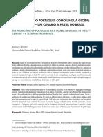A PROMOÇÃO DO PORTUGUÊS COMO LÍNGUA GLOBAL