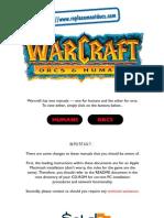 Warcraft 1 manual