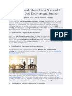 7 Key Considerations For A Successful Learning And Development Strategy.docx