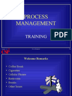 Training Process Management
