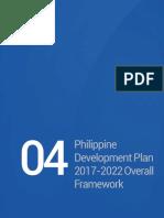 NEDA - Phil Dev't Plan 2017-2022, Chapter 4