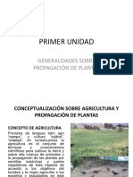 Nociones de agricultura