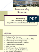 Procure to Pay Showcase