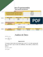 Experiencia 2 Datos y Analisis