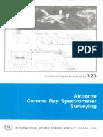 Airborne spectometric