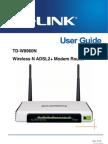 TD-W8960N User Guide