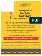 Ashoka Buildcon Road Safety Campaign 2019