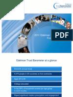 2011 Edelman Trust Barometer