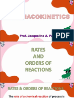 Pharmacokinetics Review CEE with practice problems