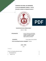 INVESTIGACIÓN DE OPERACIONES DUALIDAD