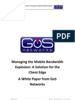 Managing the Mobile Bandwidth Explosion
