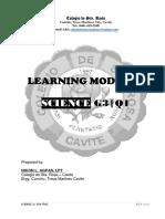 Science 3 module Q1