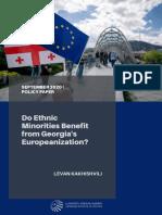 Do Ethnic Minorities Benefit from Georgia's Europeanization?