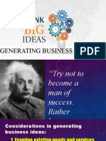 Lesson 3-Business Idea
