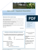 Axe Creek & Eppalock News Issue 68