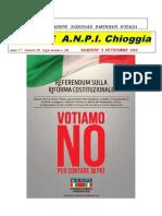 Notiziario ANPI Chioggia numero 59