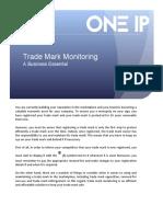 Trade Mark Monitoring  (JG) for LinkedIn