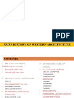 1 OVERVIEW_BRIEF HISTORY OF WESTERN ARCHITECTURE