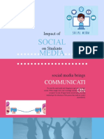 Impact of Social Media on Student