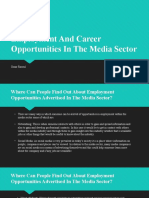 Employment And Career Opportunities In The Media Sector.pptx