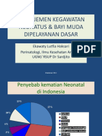 Tata Laksana kegawatan neonatus dan bayi muda 2012 RSB