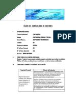 SÍLABO  DE   CONTABILIDAD  DE SOCIEDADES 2020-II