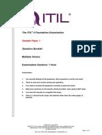 ITIL 4 Foundation Sample Paper 1 Question Book v1.4.pdf