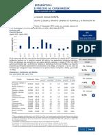 Boletín Indice de Precios Al Consumidor (Ipc) Agosto 2020