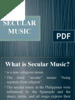 SECULAR MUSIC