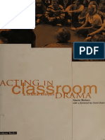 Acting in classroom drama  a critical analysis.pdf
