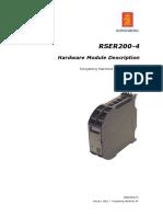 RSER200-4 HW Mod Description 300993C