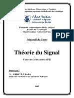 Cours_ABDELLI Radia_Théorie du Signal