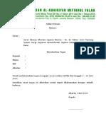 3. Contoh Surat Tugas WFH Guru bulan Juni