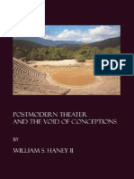 William S. Haney II - Postmodern Theater & the Void of Conceptions-Cambridge Scholars Publishing (2006).pdf