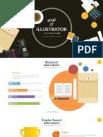 Illustrator Powerpoint Presentation Slide_16x9