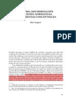 Segato, Rita Laura. 2017. Racismo, discriminación y acciones afirmativas herramientas conceptuales._6097a84c1d8accc1928c27cfee3a30cd