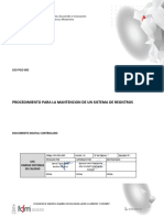 SSO-PGO-003 v22 Procedimiento para la mantención de un sistema de registros