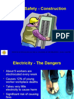 Electrical Safety - Construction