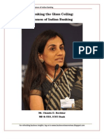 Breaking the Glass Ceiling- Women of Indian Banking
