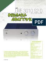 Essai 3010SD ampli exposure