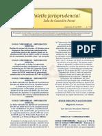 Boletin Jurisprudencial 2020-09-07