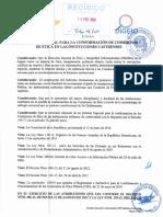 Estatuto Especial Para La Conformación y El Funcionamiento de Las Comisiones de Ética Pública en Las Instituciones Castrenses