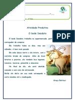 ATIVIDADE LINGUA PORTUGUESA 4º ANO (2020)
