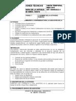 NUMERO DE LA ACTIVIDAD 7 - HITO PAÑETES ESPECIFICACIONES TECNICAS - 12-12-2017